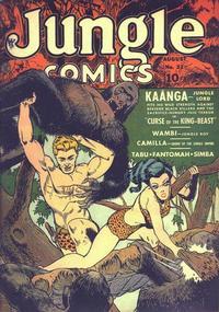 Cover Thumbnail for Jungle Comics (Fiction House, 1940 series) #32