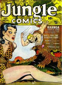 Cover Thumbnail for Jungle Comics (Fiction House, 1940 series) #34