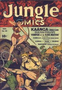 Cover Thumbnail for Jungle Comics (Fiction House, 1940 series) #35