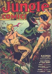 Cover Thumbnail for Jungle Comics (Fiction House, 1940 series) #37
