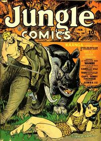 Cover Thumbnail for Jungle Comics (Fiction House, 1940 series) #38