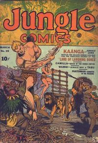 Cover Thumbnail for Jungle Comics (Fiction House, 1940 series) #39