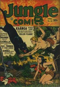 Cover Thumbnail for Jungle Comics (Fiction House, 1940 series) #40