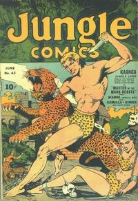 Cover Thumbnail for Jungle Comics (Fiction House, 1940 series) #42