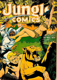 Cover Thumbnail for Jungle Comics (Fiction House, 1940 series) #43