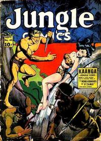 Cover Thumbnail for Jungle Comics (Fiction House, 1940 series) #45