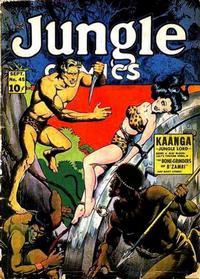 Cover Thumbnail for Jungle Comics (Fiction House, 1940 series) #45