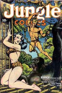 Cover Thumbnail for Jungle Comics (Fiction House, 1940 series) #46