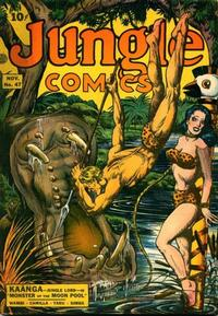 Cover Thumbnail for Jungle Comics (Fiction House, 1940 series) #47