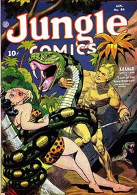 Cover Thumbnail for Jungle Comics (Fiction House, 1940 series) #49