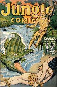 Cover Thumbnail for Jungle Comics (Fiction House, 1940 series) #52