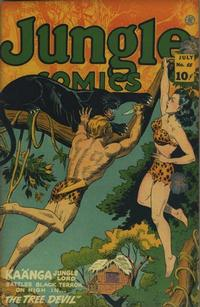 Cover Thumbnail for Jungle Comics (Fiction House, 1940 series) #55