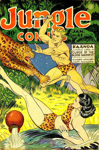 Cover Thumbnail for Jungle Comics (Fiction House, 1940 series) #61