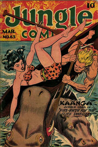 Cover Thumbnail for Jungle Comics (Fiction House, 1940 series) #63