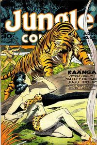 Cover Thumbnail for Jungle Comics (Fiction House, 1940 series) #64