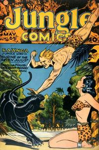 Cover Thumbnail for Jungle Comics (Fiction House, 1940 series) #65