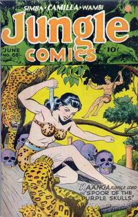 Cover Thumbnail for Jungle Comics (Fiction House, 1940 series) #66