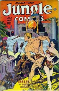 Cover Thumbnail for Jungle Comics (Fiction House, 1940 series) #67