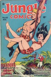 Cover Thumbnail for Jungle Comics (Fiction House, 1940 series) #68
