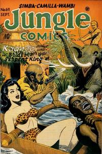 Cover Thumbnail for Jungle Comics (Fiction House, 1940 series) #69