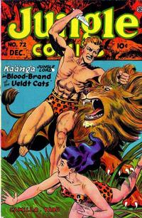 Cover Thumbnail for Jungle Comics (Fiction House, 1940 series) #72