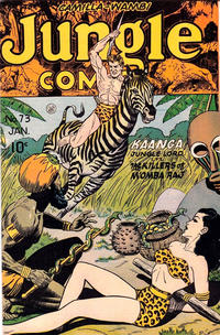 Cover Thumbnail for Jungle Comics (Fiction House, 1940 series) #73