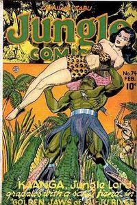 Cover Thumbnail for Jungle Comics (Fiction House, 1940 series) #74