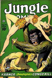 Cover Thumbnail for Jungle Comics (Fiction House, 1940 series) #75