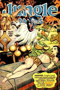 Cover Thumbnail for Jungle Comics (Fiction House, 1940 series) #77