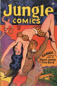 Cover Thumbnail for Jungle Comics (Fiction House, 1940 series) #82