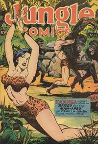 Cover Thumbnail for Jungle Comics (Fiction House, 1940 series) #85