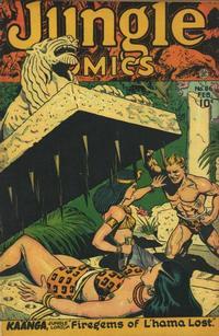Cover Thumbnail for Jungle Comics (Fiction House, 1940 series) #86