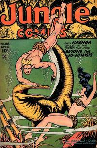 Cover Thumbnail for Jungle Comics (Fiction House, 1940 series) #88