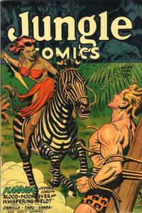 Cover Thumbnail for Jungle Comics (Fiction House, 1940 series) #89