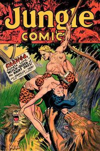 Cover Thumbnail for Jungle Comics (Fiction House, 1940 series) #93