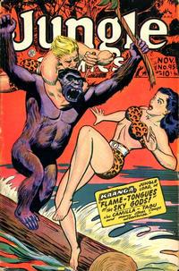 Cover Thumbnail for Jungle Comics (Fiction House, 1940 series) #95
