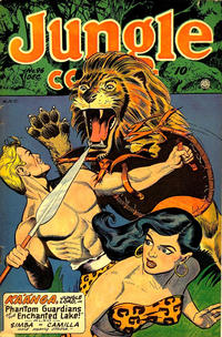 Cover Thumbnail for Jungle Comics (Fiction House, 1940 series) #96