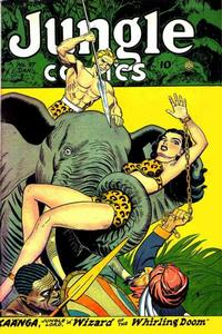 Cover Thumbnail for Jungle Comics (Fiction House, 1940 series) #97