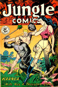 Cover for Jungle Comics (Fiction House, 1940 series) #100
