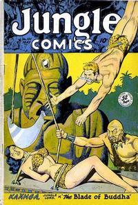Cover Thumbnail for Jungle Comics (Fiction House, 1940 series) #101
