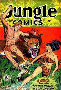 Cover Thumbnail for Jungle Comics (Fiction House, 1940 series) #103