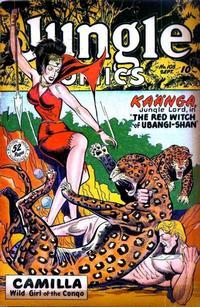 Cover Thumbnail for Jungle Comics (Fiction House, 1940 series) #105