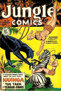 Cover Thumbnail for Jungle Comics (Fiction House, 1940 series) #111