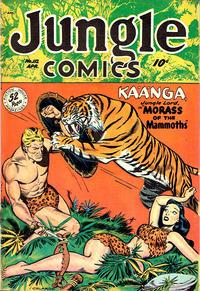 Cover Thumbnail for Jungle Comics (Fiction House, 1940 series) #112