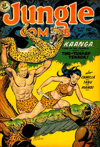 Cover Thumbnail for Jungle Comics (Fiction House, 1940 series) #113