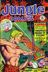 Cover Thumbnail for Jungle Comics (Fiction House, 1940 series) #118