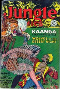 Cover Thumbnail for Jungle Comics (Fiction House, 1940 series) #121