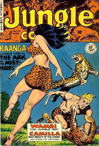 Cover Thumbnail for Jungle Comics (Fiction House, 1940 series) #123