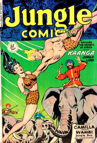 Cover Thumbnail for Jungle Comics (Fiction House, 1940 series) #127