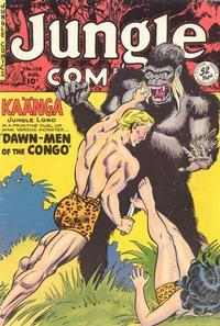 Cover Thumbnail for Jungle Comics (Fiction House, 1940 series) #128